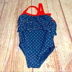 Baby gap polka dot swimsuit infant 18/24m